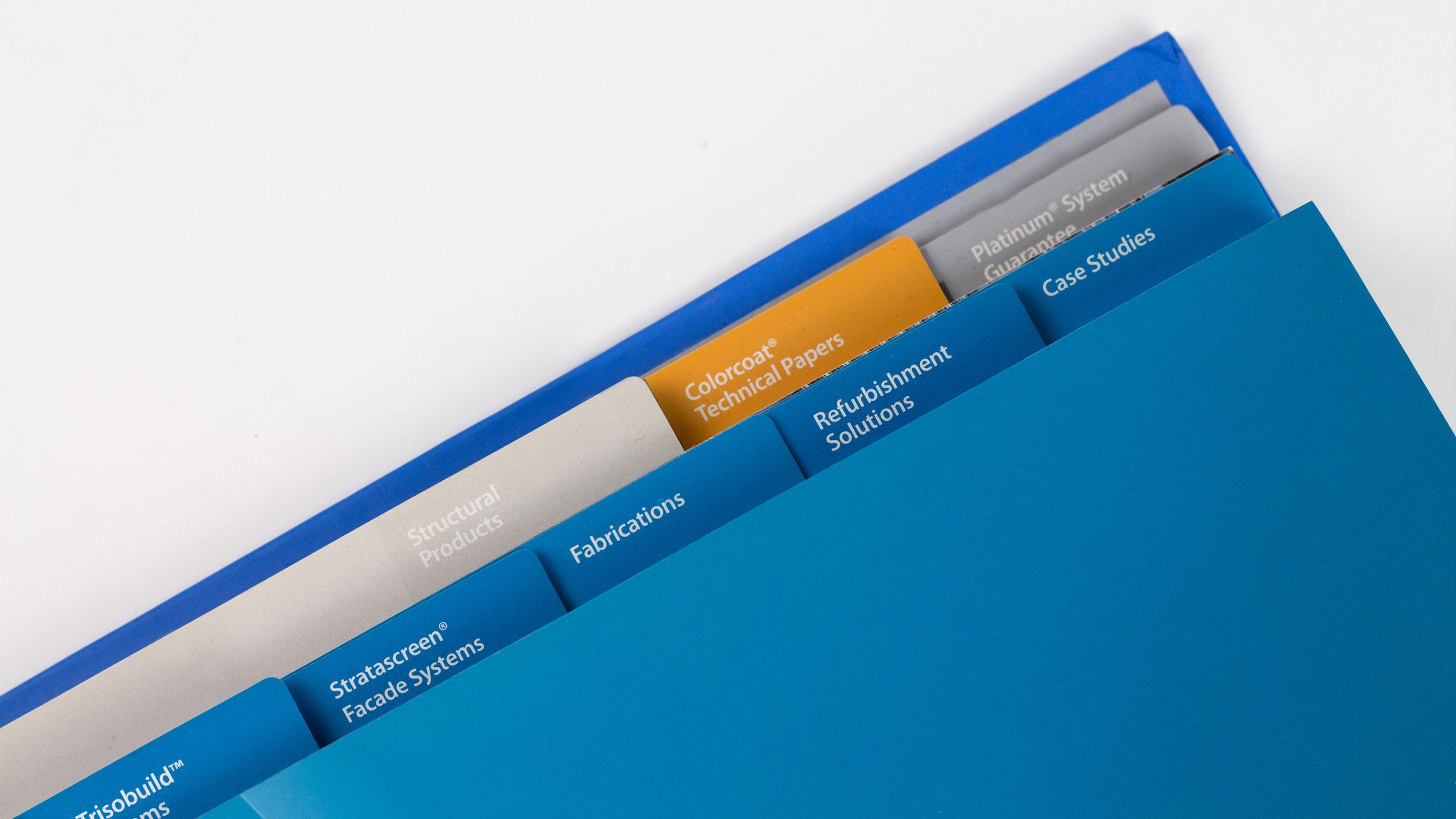 Tata Steel folder