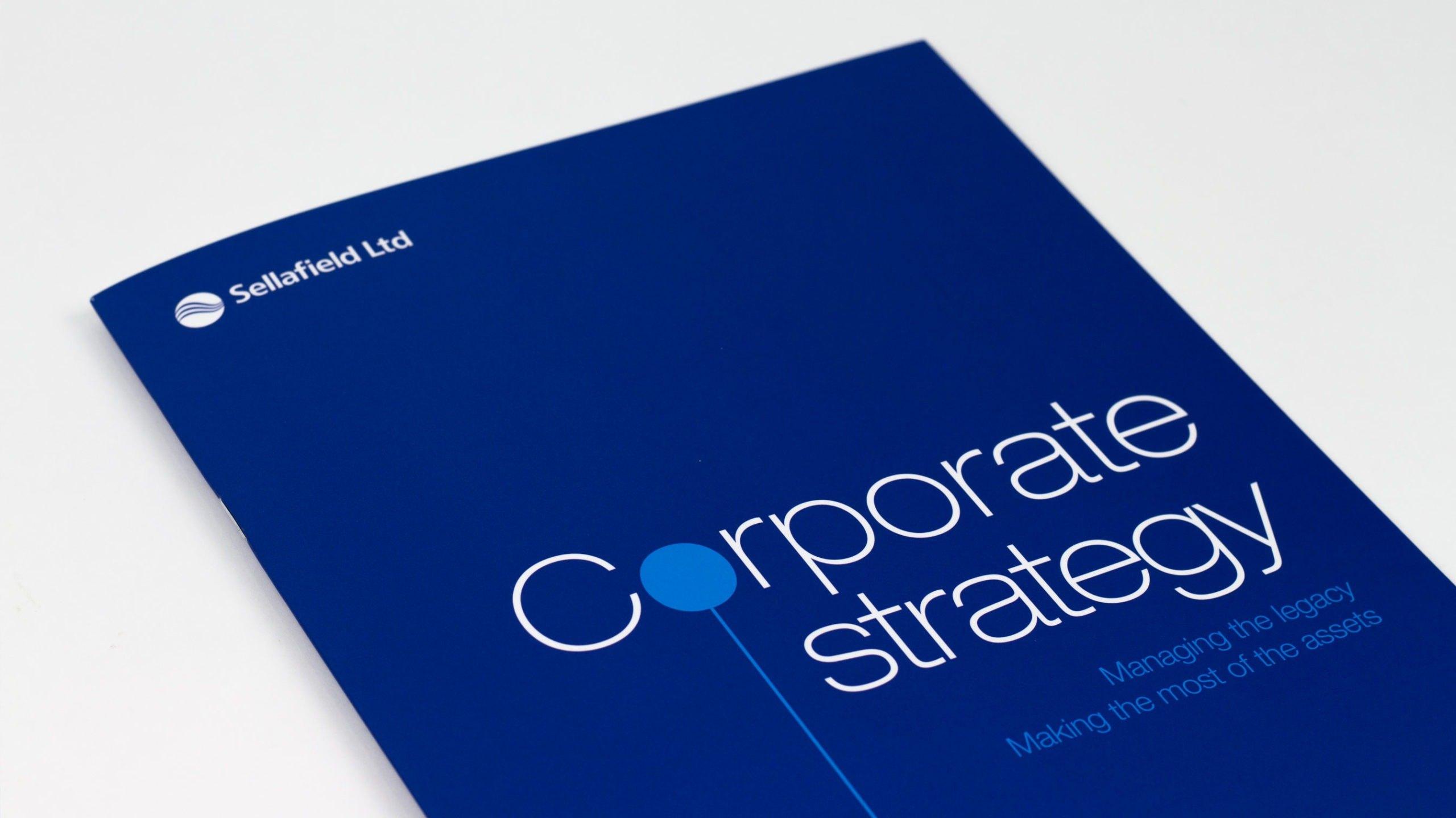Sellafield Ltd Corporate strategy brochure cover