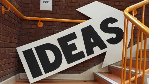 Ideas arrow UCLan degree show 2019