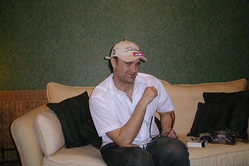 Steve in golfing hat