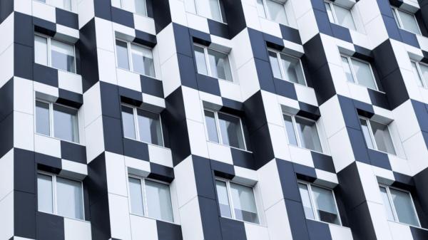 Bauhaus building facade