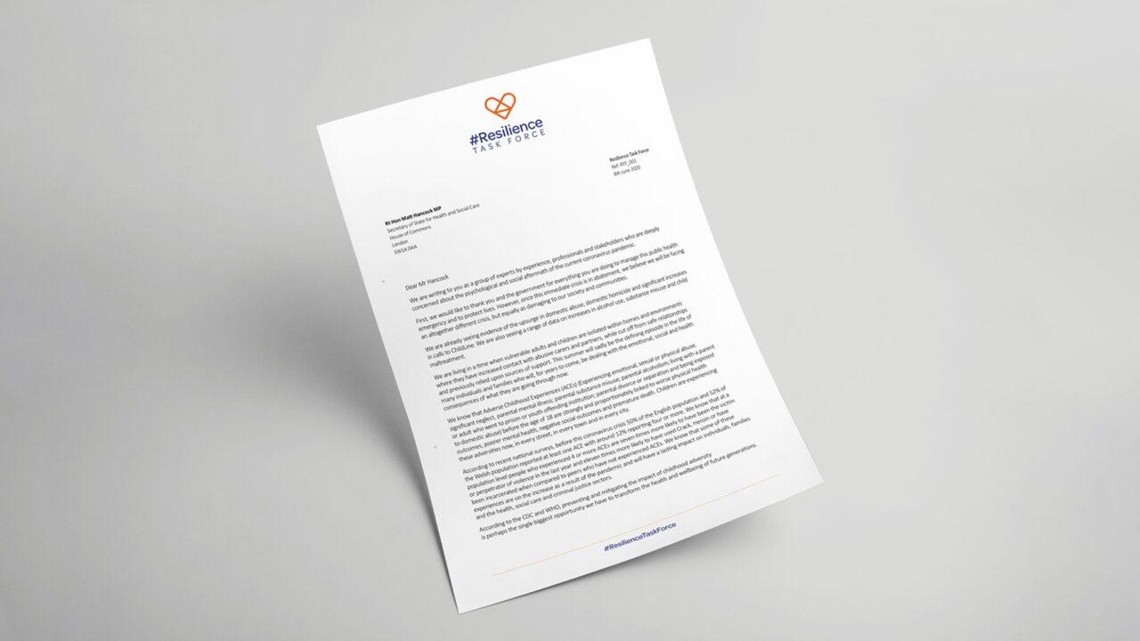Resilience Task Force Open Letter