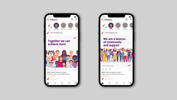 Mobile phone visual mockups