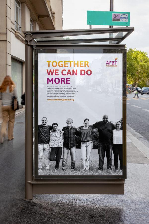 Bus shelter poster 2