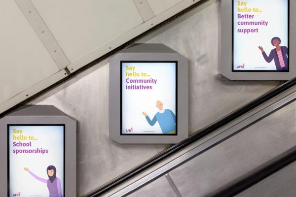 Escalator posters